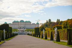 Stock Photo of belvedere palace in vienna, austria
