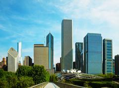 Downtown chicago, il Stock Photos