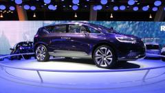 Renault Initiale Paris Stock Footage