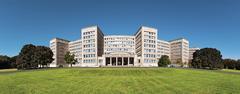 Germany, Frankfurt, IG Farben Building on Campus Westend - stock photo