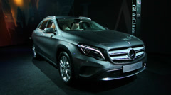 Mercedes Benz GLA Stock Footage