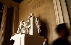 Lincoln Memorial Statue Stock Photos