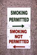 Smoking Permitted Stock Photos