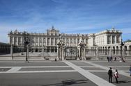 Stock Photo of Royal palace, Madrid, Spain, Palacio Real