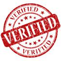 Stock Illustration of verified stamp