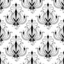 Stock Illustration of beautiful floral arabesque seamless pattern