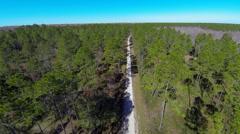 Suwannee National Wildlife Refuge - stock footage