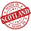 Stock Illustration of made in scotland stamp