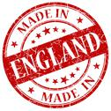 Stock Illustration of made in england red stamp