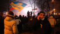 UKRAINE, KIEV, JANUARY 19, 2014: Anti-government protest in Kiev, Ukraine Footage