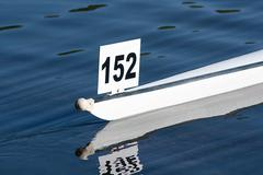 the boat race - stock photo
