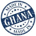 Stock Illustration of made in ghana stamp