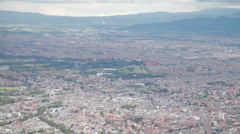 HD video of the Bogota metropolis in Colombia Stock Footage