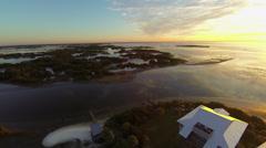 Cedar Key Aerial Stock Footage