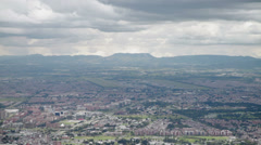 The mountains surrounding Bogota, Colombia Stock Footage
