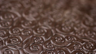 Stock Video Footage of Chocolate texture food