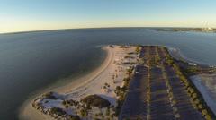 Howard Beach, Gulf of Mexico Stock Footage