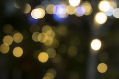 Circle and light abstract background christmas Stock Photos