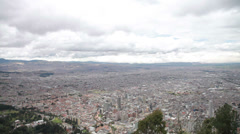 HD 1080p video of the stunning city of Bogota in Colombia Stock Footage