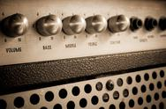 Stock Photo of guitar amplifier