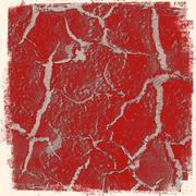 dark red grunge background - stock illustration