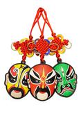 Stock Photo of chinese new year traditional opera mask ornaments
