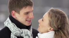 Outdoor Couple Stock Footage