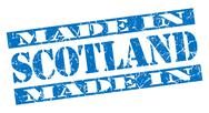 Stock Illustration of made in scotland grunge blue stamp