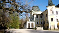 Manor-House Betliar, Slovakia Stock Footage