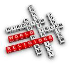 Stock Illustration of major world religions