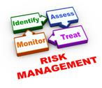 Stock Illustration of 3d risk management cycle