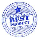 Stock Illustration of grunge best product rubber stamp