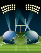 football championship - stock illustration