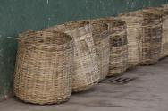 Stock Photo of wicker tea baskets
