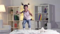 Carefree Child - stock footage