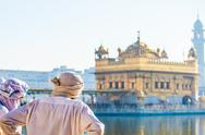 Stock Photo of sikh gurdwara golden temple (harmandir sahib). amritsar, punjab, india