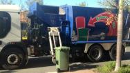 Stock Video Footage of Garbage Truck
