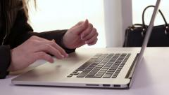 Straight to work! Stock Footage