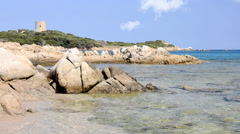 Sardinia, seascape Stock Footage