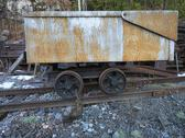 Stock Photo of railroad cart