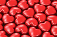 Stock Illustration of Red hearts
