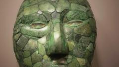 Mask of jade Stock Footage