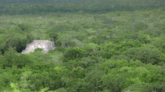 Temple in the jungle Stock Footage
