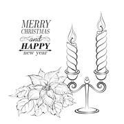 Christmas decoration. - stock illustration