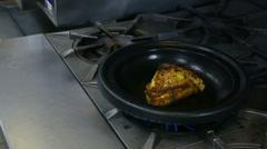 Cooking Seasoned Chicken Stock Footage