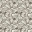Stock Illustration of Floral pattern on sepia background.