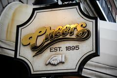 Cheers Sign Stock Photos