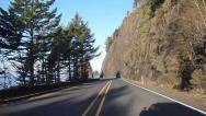 Stock Video Footage of Highway 101 Time Lapse