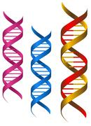 dna elements - stock illustration