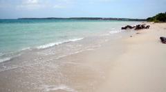 Playa Blanca Beach Stock Footage